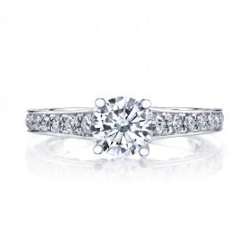 MARS 26545 Diamond Engagement Ring 0.50 Ctw.