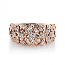 MARS Fashion Ring, 0.36 Ctw.