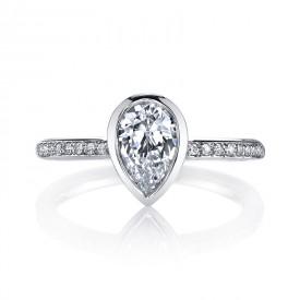 MARS 26704D Diamond Engagement Ring 0.12 Ctw.