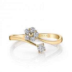 MARS Fashion Ring, 0.24 Ctw.