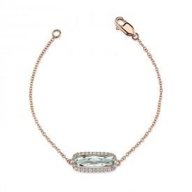 MARS Fashion Bracelet, 0.14 Dia. 1.42 G Ameth.