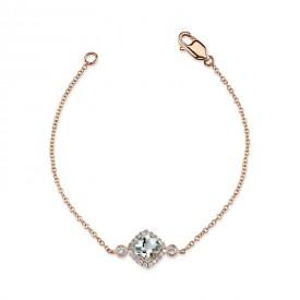 MARS Fashion Bracelet, 0.12 Dia. 0.52 G Ameth.