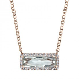 MARS Fashion Necklace, 0.15 Dia. 1.33 G Ameth.
