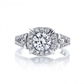 MARS Diamond Engagement Ring, 0.36 ct tw