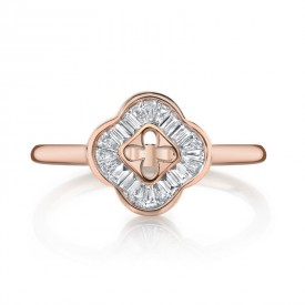 MARS Fashion Ring, 0.26 Ctw.