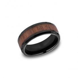 Forge Black Cobalt 8mm Band