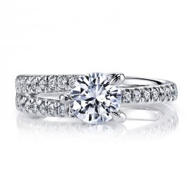 Diamond Engagement Ring 0.45 ct tw