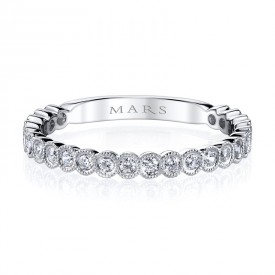 MARS Stackable Ring, 0.34 Ctw.