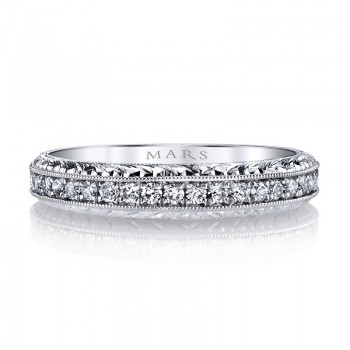 Diamond Women's Wedding Band 0.23 ct tw