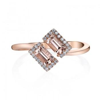 MARS Fashion Ring, 0.11 Dia. 0.68 Morgan.