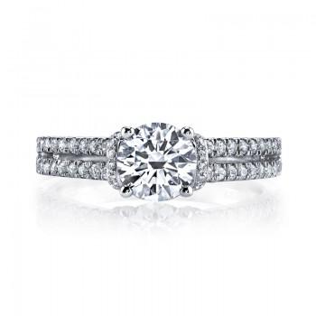 MARS 25038 Diamond Engagement Ring 0.41 Ctw.