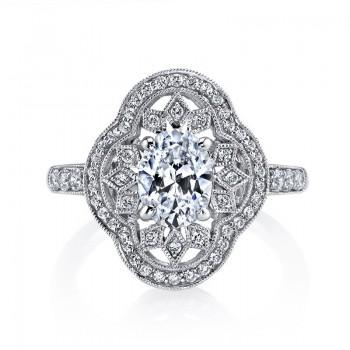 MARS Diamond Engagement Ring 0.43 ct tw