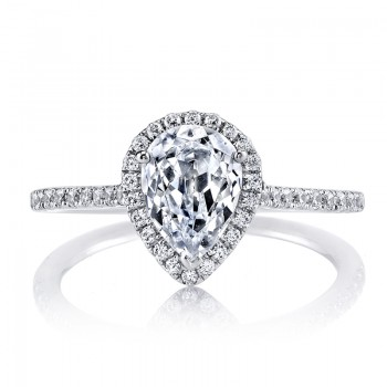 MARS 25467 Diamond Engagement Ring 0.30 Ctw.