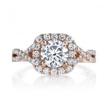 MARS 25560 Diamond Engagement Ring 0.58 Ctw.