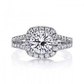 MARS 25563 Diamond Engagement Ring 0.95 Ctw.