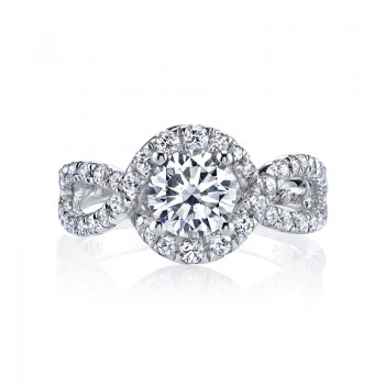 MARS 25603 Diamond Engagement Ring, 0.71 Ctw.