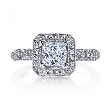 MARS 25632 Diamond Engagement Ring 0.77 Ctw.