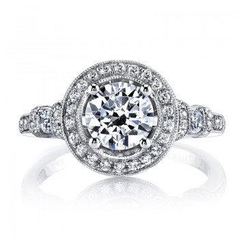 MARS 25723 Diamond Engagement Ring 0.52 Ctw.