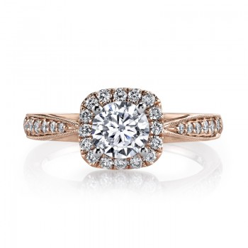 MARS 25804 Diamond Engagement Ring 0.31 Ctw.