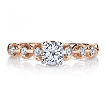 MARS 25807 Diamond Engagement Ring 0.25 Ctw.