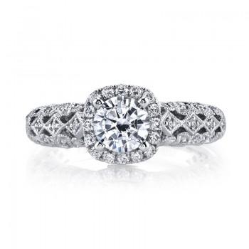 MARS 25826 Diamond Engagement Ring 0.30 Ctw.