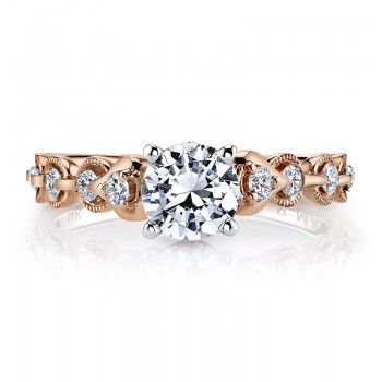 MARS 25831 Diamond Engagement Ring 0.25 Ctw.