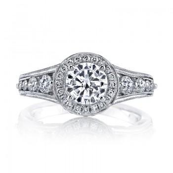 MARS Diamond Engagement Ring 0.73 ct tw