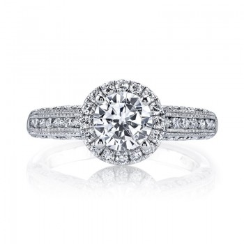 MARS 25869 Diamond Engagement Ring 0.54 Ctw.