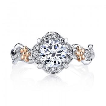 MARS 25952 Diamond Engagement Ring, 0.26 Ctw.