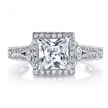 MARS Diamond Engagement Ring 0.61 Ctw.