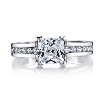 MARS 25969 Diamond Engagement Ring 0.55 Ctw.