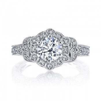 MARS 26011 Diamond Engagement Ring 0.50 Ctw.