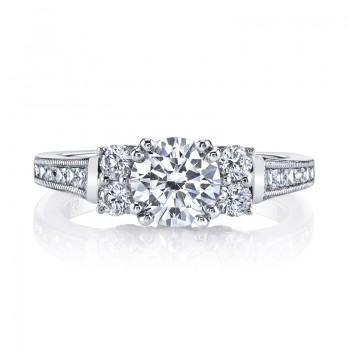 MARS Diamond Engagement Ring, 0.30 Ctw.