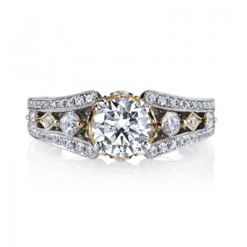 MARS Diamond Engagement Ring 0.46 Ctw.
