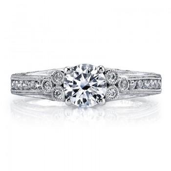 MARS 26075 Diamond Engagement Ring, 0.65 Ctw.