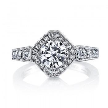MARS 26100 Diamond Engagement Ring, 0.66 Ctw.