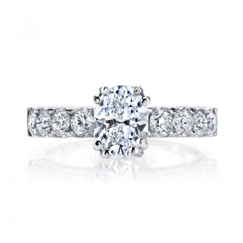 MARS Diamond Engagement Ring 1.27 Ctw.