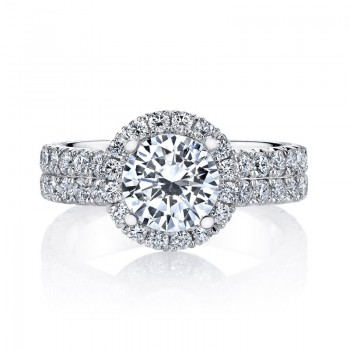 MARS Diamond Engagement Ring 1.70 Ctw.