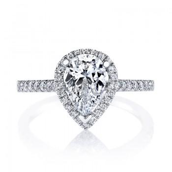 MARS 26502 Diamond Engagement Ring 0.28 Ctw.