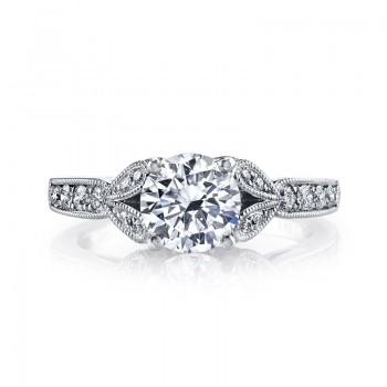 MARS 26700 Diamond Engagement Ring 0.28 Ctw.
