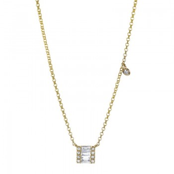 MARS Fashion Necklace, 0.17 Ctw.