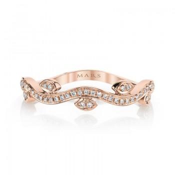 MARS Fashion Ring, 0.12 Ctw.