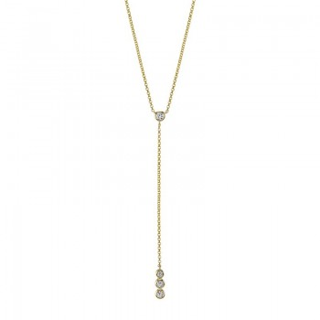 MARS Fashion Necklace, 0.14 Ctw.