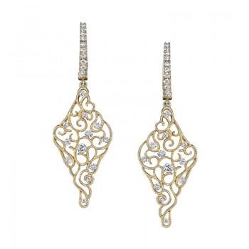 MARS Diamond Drop Earrings 0.89 ctw
