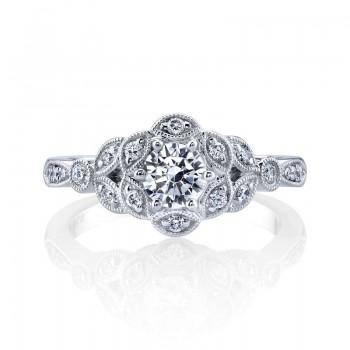 MARS Diamond Engagement Ring, 0.25 Ctw.