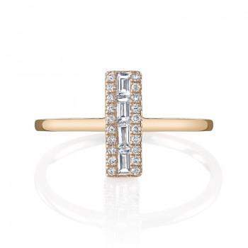 MARS Fashion Ring, 0.16 Ctw.