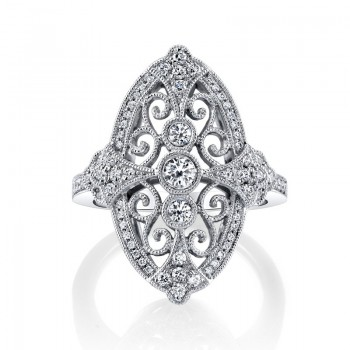 Diamond Engagement Ring 0.53 ctw