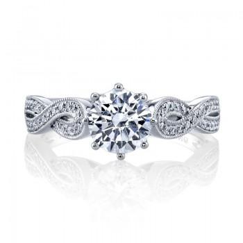 MARS Diamond Engagement Ring, 0.20 Ctw.
