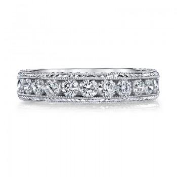 Diamond Wedding Band, 0.75 Ctw