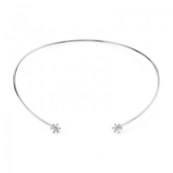 MARS Fashion Necklace, 0.15 Ctw.